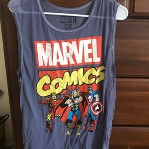 Marvel tank top XL